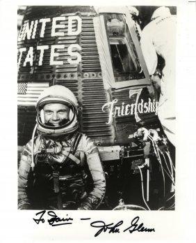 Glenn John: (1921- ) American Astronaut, One Of The
