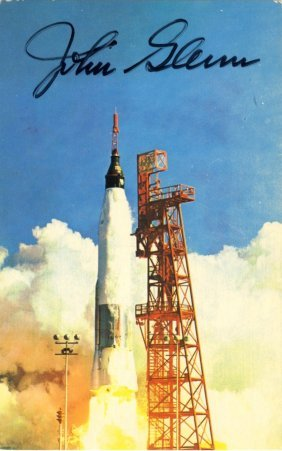 Mercury Seven Launches: Small Selection Of Signed 8 X