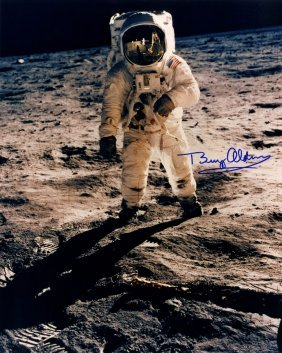 Aldrin Buzz: (1930- ) American Astronaut, Lunar Module