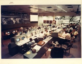 Mission Control: An Unusual Selection Of Signed 8 X 10