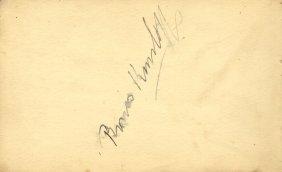 Autograph Album: An Autograph Album Containing Over 50