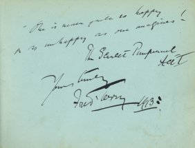 Theatre: Two Autograph Albums Containing Over 250