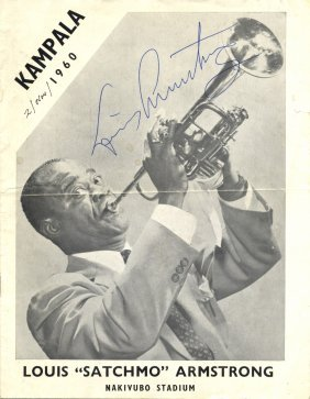 Armstrong Louis: (1901-1971) American Jazz Trumpeter. A