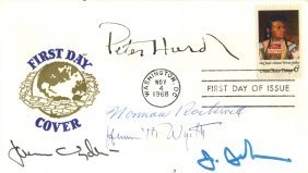 American Artists: An American First Day Cover