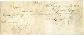 Scott Walter: (1771-1832) Scottish Novelist. D.s.,