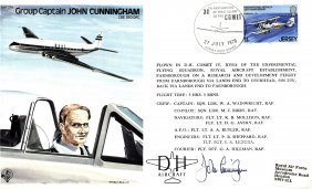 Aviation: Selection Of Signed First Day Covers By