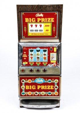 Slot machine push buttons