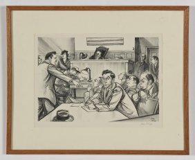 "William Sharp (american, 1900-1961) ""lucky Luciano"","