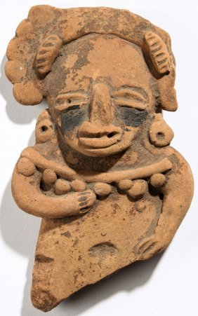 Ancient Pre Columbian Clay Figure