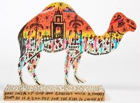 "Howard Finster (1916-2001) ""camel"""