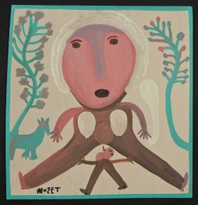 "Mose Tolliver (1925-2006) ""spreading Leg Sally"""