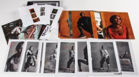 Paul Rowland Studio Photography Archive: Naomi Campbell