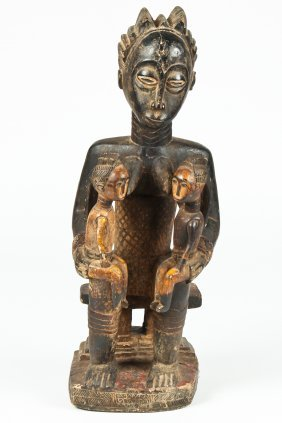 Baule Maternity Figural Group