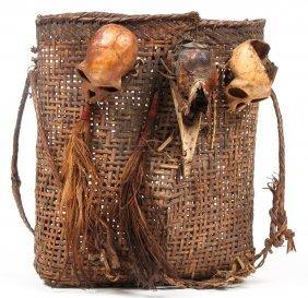 Naga Warrior Headhunter Basket
