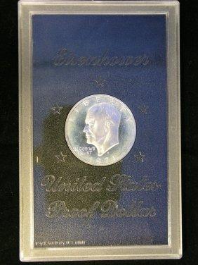 1971 Eisenhower Dollar Proof 40 % Silver