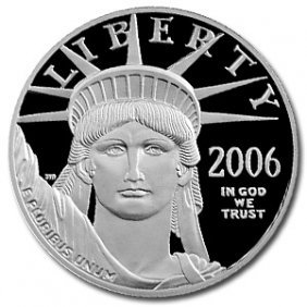 2006-W 1/4 Oz Proof Platinum American Eagle