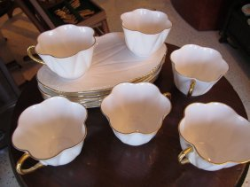 Shelley Regency Dainty White Snack Set