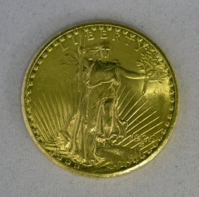 St. Gauden $20.00 BU 1926 - $20 Gold Double Eagle