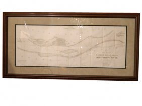 Interesting �No. 3 Map Of The Harbor Of St. Louis,