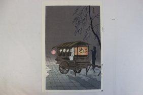 Japanese Woodblock Print By Tomikichiro Tokuriki