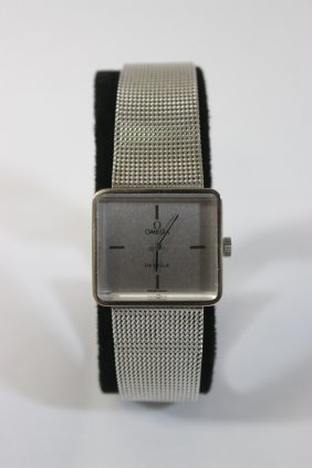 Omega De Ville Square Face Wrist Watch