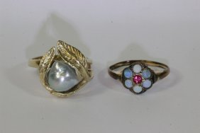 2 Victorian Rings