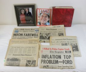 Collection Of Ronald Reagan Memorabilia