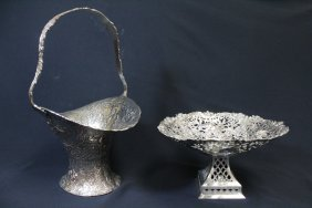 2 Victorian Silverplate Pieces
