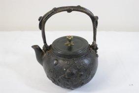 Chinese Cast Iron Teapot