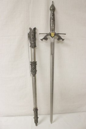 Ornate Late 20th Century European Sword