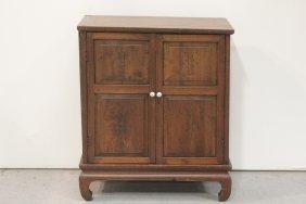 Mid-19th Century Walnut 2-door Cabinet