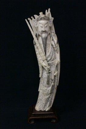 Ivory Carved Daoism Immortal