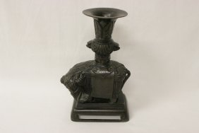 Chinese Antique Bronze Candle Holder