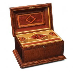 A Fine And Important Australian Specimen Wood Box