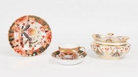 A Derby Oval Sugar Bowl And Cover, Circa 1820, 17 Cm