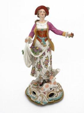 A Porcelaine De Paris (sampson) Figure Of A