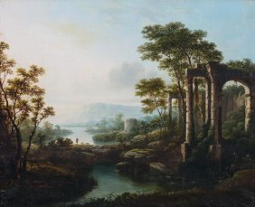 Attributed To Joseph Wright Of Derby Classical