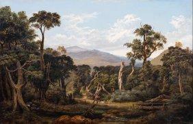 Isaac Whitehead (1819=1881) Near Lilydale 1872