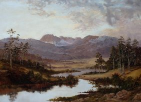 William Charles Piguenit (1836-1914) Legge€™s Tor€™