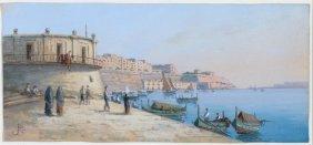 European School Mediterranean Fishing Village