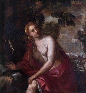 Italian School Classical Figure Study 18th Century