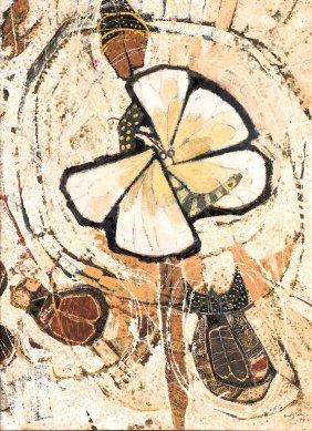 Clifton Pugh (1924-1990) Moth 1977