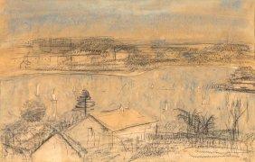 Lloyd Rees (1895-1988) Lane Cove River Ii 1965