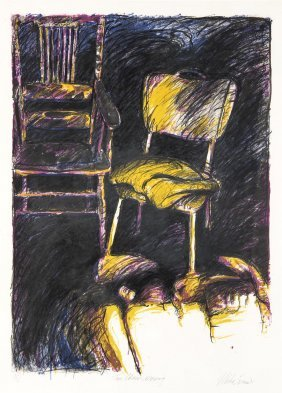 Mike Green (born 1941) I) Two Chairs, Morning 1985