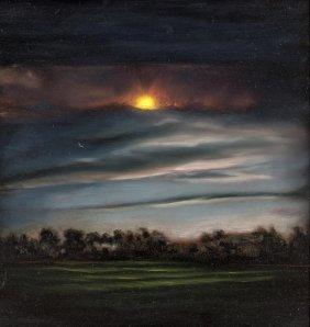 Louise Hearman (born 1963) Sunset 1997
