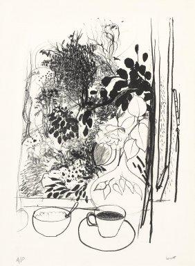 Brett Whiteley (1939-1992) View Of The Garden 1977