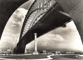 Frank Hurley (1885-1962) The Bridge C.1950s