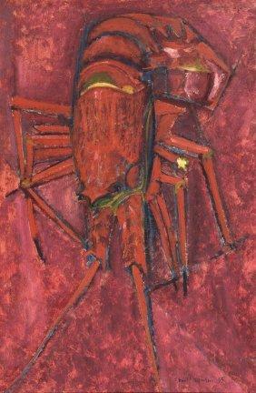 Frank Hodgkinson (1919-2001) Crayfish 1955