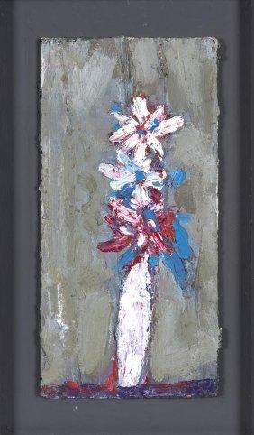 Roger Kemp (1908-1987) White Flower 1969