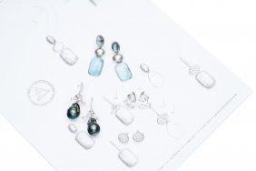 A Collection Of Earrings, Adrian Lewis, Comprising